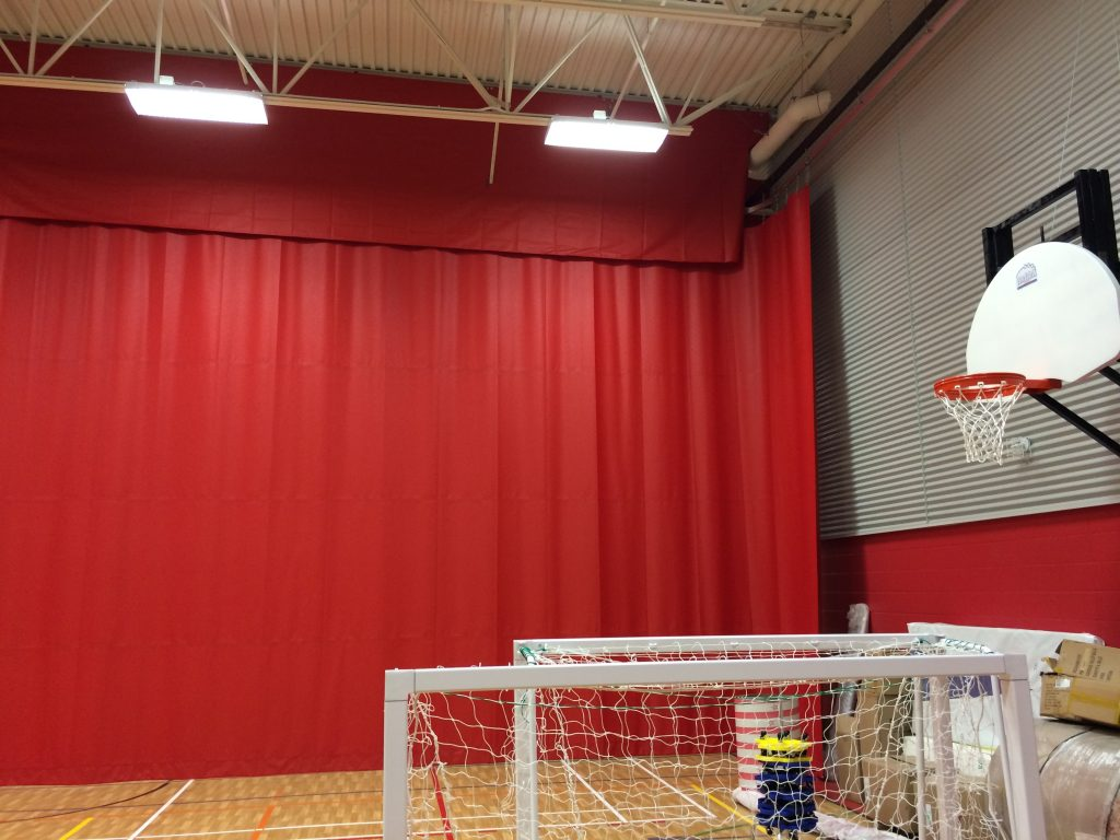 Sports divider curtain system | 78 Sports